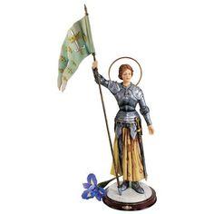 St. Joan of Arc Sculpture