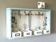 DIY Room Decor - Add cork to the bottom/back for an awesome way to keep notes organized