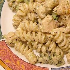 Basil Chicken and Pasta - A great quick meal; the chicken and sauce can be prepared in the time it takes to cook the pasta. This looks delicious. Chicken Basil Pasta, Creamy Chicken, Think Food, Food For Thought, Quick Meals, Pasta Dishes, Food To Make, Main Dishes, Cooking Recipes