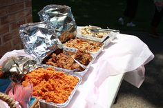 Chamorro food for Ha'ani's 4th bday
