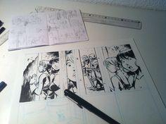 Dibujando Magia&Acero.