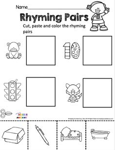 AUGUST NO PREP CENTERS - reading writing math - kindergarten standards - skills advance through the year - counting - letters - name - fine motor skills - colors - shapes - number line - one to one correspondence - sight words - first sounds - simple activities - august - back to school - printables - freebies - free resources #kindergartenbacktoschool #kindergarten Kindergarten Lesson Plans, Kindergarten Centers, Homeschool Kindergarten, Homeschooling, Literacy Worksheets, Kindergarten Activities, Preschool Ideas, Rhyming Pairs, Math Numbers