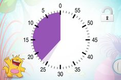 "Buddy's Timer | Special Needs App - Buddy's Timer can be used with very young children and is perfectly suited for children on the autistic spectrum. It is the ideal tool to help learn the concept of time. The time timer ""materializes"" the time left for an activity at home, in school or during a therapy session."
