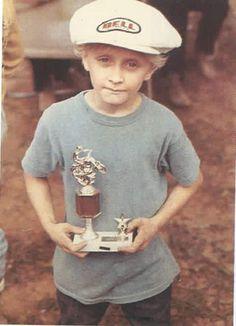 Young Kevin Schwantz Cafe Racing, Road Racing, Grand Prix, Men Are Men, Vespa Girl, Trial Bike, Vintage Motocross, Racing Motorcycles, Old Bikes