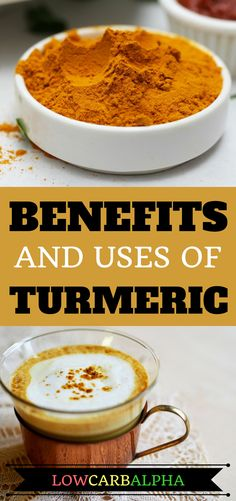 benefits and uses of turmeric https://lowcarbalpha.com/health-benefits-of-turmeric/ Turmeric for a healthy lifestyle #nutrition #turmeric #healthyliving #lowcarbalpha