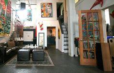 Méchant Studio Blog: artist house tour...