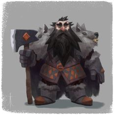 ArtStation - The Dwarf!, Aleksandar Ignatov