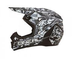 2015 Oneal 5 Series Digi Camo Dirt Bike Off-Road ATV Quad Gear Motocross Helmet