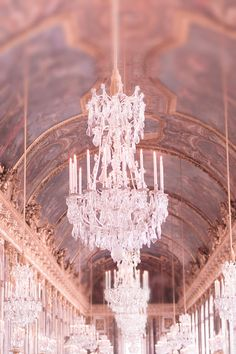Versailles Photography, Paris Home Decor, Hall of Mirrors, Chandeliers, French Wall Decor - Glittering Light