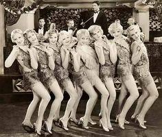 showgirls, fringe, scandal & the Charlston