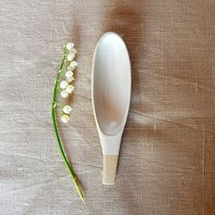 Spice spoon Handmade spoon Grain spoon Clay spoon Ceramic