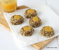 Mueslikoekjes - Mind Your Feed Baking Recipes, Healthy Recipes, Healthy Food, Mind You, Cookie Pie, Healthy Cookies, Lemon Curd, Muesli, High Tea