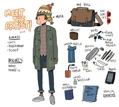 meet the artist by Kichaa on DeviantArt Pretty Art, Cute Art, Cartoon Styles, Cartoon Art, Character Design References, Character Art, Art Sketches, Art Drawings, Cat Pokemon