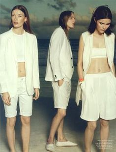 'Sonic Youth' Erik Anderson, Agnes Nabuurs & Julia Hatstrom by Paola Kudacki for H&M Magazine Summer 2014 3
