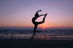 Image result for gymnastics in the sunset