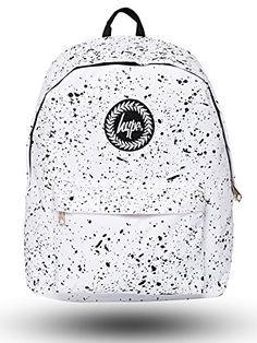 Hype Backpack | Unisex Rucksack Designer School Shoulder Bag | Just Hype Bags (One size, Speckle White) Hype http://www.amazon.co.uk/dp/B010G4KWUW/ref=cm_sw_r_pi_dp_-e6Tvb0Y5NVR9