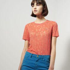 Tee-shirt Lacoste Live imprimé