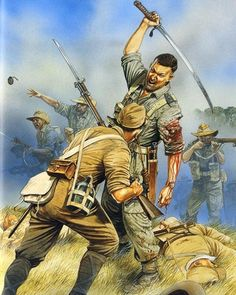the_ww2_memoirs -The Chindits-  The Chindits, who were known officially as the Long Range Penetration Group, were an elite force of British soldiers who would go deep behind Japanese lines and sabatoge communications and supplies. They were founded by Orde Wingate, a British artillery officer, who evolved the concept of the unit in the jungles of Asia in 1942. The Chindits are named for the mythical Burmese beast the Chinthe. Durint 1944, a pivotal year in the Burmese Campaign, the Chindits…