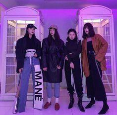 Korean Fashion – How to Dress up Korean Style – Designer Fashion Tips Seoul Fashion, Korean Street Fashion, Asian Fashion, Look Fashion, Trendy Fashion, Girl Fashion, Fashion Outfits, Fashion Tips, Fashion Trends