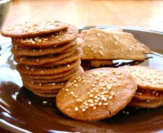 1 1/2 cups whole wheat flour (or a blend of white and wheat)   1/2 tsp salt   1/3 cup oil   1/2 cup milk   4 tsp real maple syrup (can also use sugar, honey, or a little less agave syrup)   egg wash (1 beaten egg thinned with water)   toppings (sea salt, sesame seeds, poppy seeds, parmesan cheese, dried herbs, garlic salt, etc.)    150*C for 20-30mins
