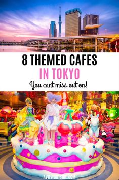 Tokyo is full of theme cafes and restaurants, from kawaii to absolutely outrageous prison cafes. Japan Travel Guide, Tokyo Travel, Asia Travel, Japan Guide, Travel Box, Travel Goals, Travel Packing, Nara, Hakone
