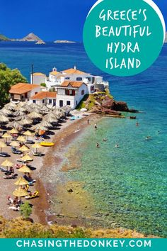 Greece Travel Blog: Looking for something to do near Athens, Greece? Hydra Island is a unique and beautfiul destination just a daytrip away! Here is everything you need to know about the Island of Hydra, Greece. In our Hydra Island guide, we've covered what to do, see, and where to stay on Hydra. Best Vacations, Vacation Trips, Vacation Spots, Croatia Travel, Greece Travel, Greece Trip, One Day Trip, Day Trips