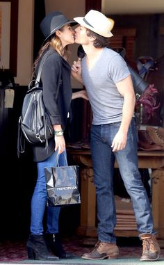 Ian Somerhalder and Nikki Reed Pack on the PDA—See the Pics!  Nikki Reed, Ian Somerhalder