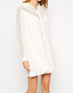 ASOS TALL Lace Swing Dress