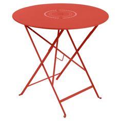 Ø 77 cm Floréal Table, outdoor foldable table