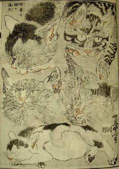 "Fragments:天牛書店 拾遺録, Kyosai Kawanabe ""Kyosai-Gadan/Kyosai's Treatise on painting''. 1887. Japan."