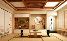Nice Deco Chambre Japonaise Ado that you must know, You?re in good company if you?re looking for Deco Chambre Japonaise Ado Japanese Style House, Traditional Japanese House, Japanese Interior Design, Japanese Home Decor, Japanese Bedroom Decor, Japanese Homes, Tatami Room, Tatami Mat, Japanese Values
