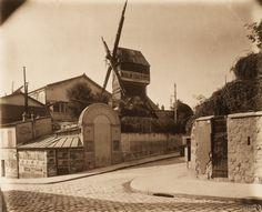 Le moulin de la Galette en 1899