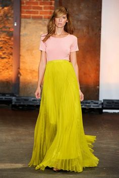 Christian Siriano color block!