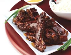 Sweet-and-Sour Spareribs Recipe | Epicurious.com I just made these ...