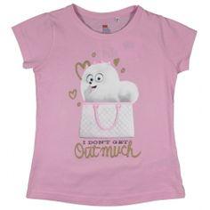 T-shirt dla dziewczynki - Sekretne Życie Zwierzaków Domowych