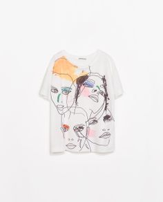#Arty #Print #Camiseta @· ZARA · 17,95€