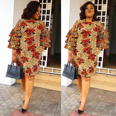2019 Best of Latest Ankara Short Gown Styles For styles of Designs To Check Best African Dresses, Latest African Fashion Dresses, African Print Dresses, African Print Fashion, African Attire, Ankara Short Gown Styles, Trendy Ankara Styles, Short Gowns, Ankara Dress Designs