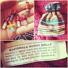 worry dolls were my favorite thing as a child.