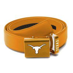 Texas Longhorns Zephyr Leather Mission Belt - Burnt Orange - $39.99
