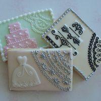 Assorted wedding cookies