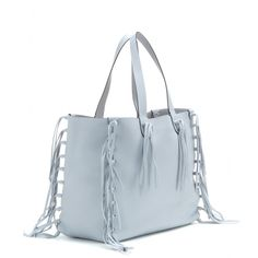 C-Rockee leather tote