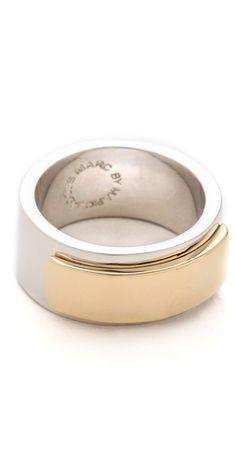 modern ring #happilygrey
