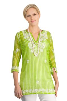 The Goa - Embroidered/ Embellished - Tunics - Top