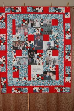 Custom Photo Quilts by BarbMalmTshirtQuilts on Etsy, $150.00