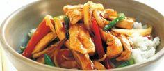 Teriyaki chicken stir fry in 15 minutes