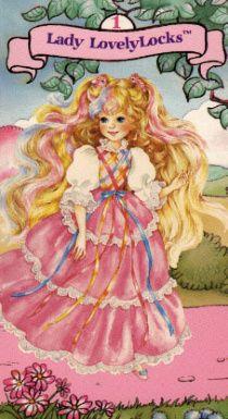 Lady Lockenlicht - hatte ich als Hörspiel-Kassette.