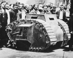 Holt One Man Tank