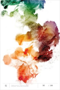 re:pin BKLYN contessa :: watercolor constellations poster