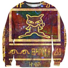 Red Ancient Mew Sweater – Shelfies - Outrageous Clothing