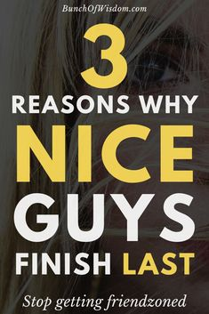 If you're the kind of guy who keeps getting friend zoned by girls because you're too nice, then you should read this to understand why nice guys finish last and what you need to do to change your approach.
